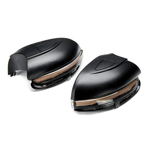 Dynamisches Spiegel Blinker Anzeigelampe für V-W Golf MK6, Golf G-TI 6, R20 2008-2012, Touran 2011-2015 (mit scannendem Blaulicht)