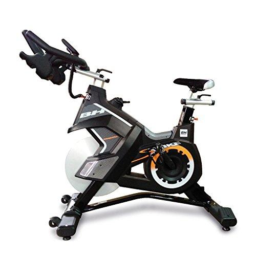 41naPyl3jML. SS500  - Bh Fitness Unisex's Superduke Magnetic Spinning Bikes, Black Yellow, Large