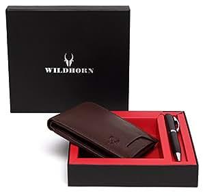 WildHorn Brown Men's Wallet (GIFTBOX179)
