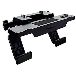 Speedlink Kamerahalterung für Xbox One – TORK XO Camera Stand (Stabiler Halt auf Flachbildschirmen – Variabel einstellbare Größe – Stützen mit schonender Silikonauflage) Perfekter Haltemechanismus für das Kamerasystem schwarz