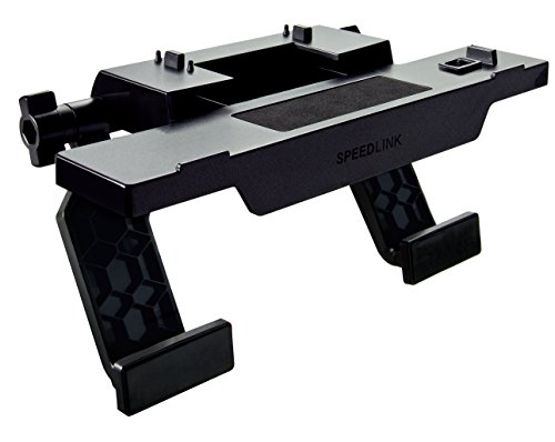 Speedlink Kamerahalterung für Xbox One - TORK XO Camera Stand (Stabiler Halt auf Flachbildschirmen - Variabel einstellbare Größe - Stützen mit schonender Silikonauflage) Perfekter Haltemechanismus für das Kamerasystem schwarz (Video Kinect)