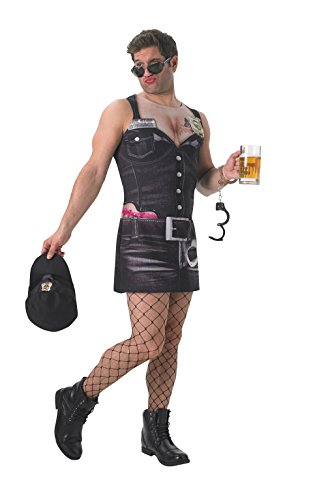 Erwachsene 's Real Appeal Sergeant Stop und suche Kostüm Hirsch Hen Night SEXY KOSTÜM–X-Large (Polizist Halloween Kostüm Für Männer)