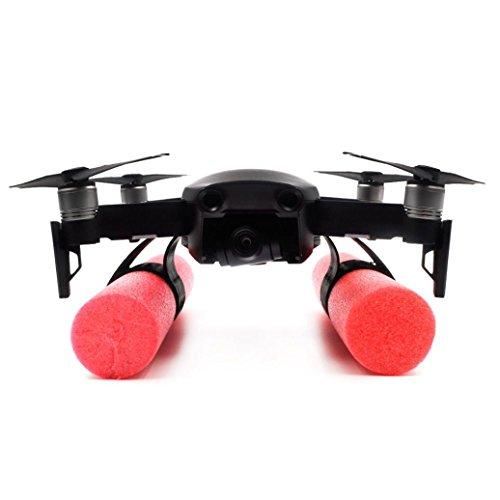 kingko für DJI Mavic Air Drone Teile ,Fahrwerk Halterung Halter + Floating Sticks Wasserdicht Für DJI Mavic AIR Drone,Gimbal Kamera Tray Handheld Stabilisator Halterung Kit (Schwarz)