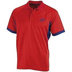 BullPadel Cabaneros - Polo para hombre, color rojo, talla XL