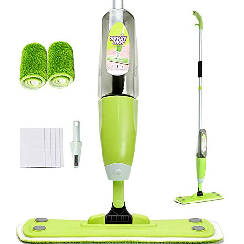 Set mopa, Spray Mop, 2 x Almohadilla reutilizable