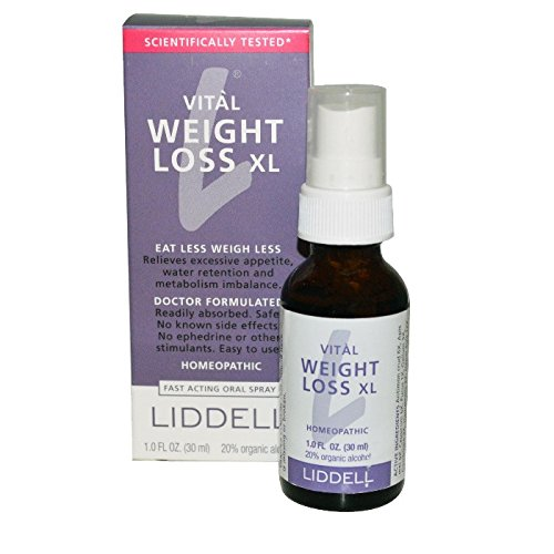 Liddell, Vital Weight Loss XL, Fast Acting Mundspray, 1 fl oz (30 ml)