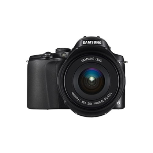 Samsung Kompakte Systemkamera, 20,3Megapixel (NX20), Schwarz