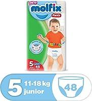 سروال حفاضات أطفال موفليكس المبتكر المضاد للتسرب، 11 – 18 كجم، 48 قطعة