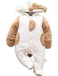 per Rompers Bebés Recién Nacidos Pijamas Bebés Invierno Saco de Dormir Infantil Mamelucos Invierno Espesado para