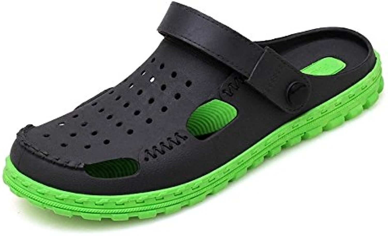 Baya Zuecos Zapatillas Antideslizantes Antideslizantes para Hombre Zapatillas Respirables Al Aire Libre Sandalias  -