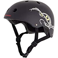 Schwinn Boys' The Mummy BMX Helmet, Black, Small (Age 8+)