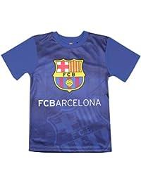 FC Barcelone - Maillot de foot FC Barcelone bleu officiel enfant - 8 ans,10 ans,12 ans,14 ans,11 ans,9 ans,13 ans