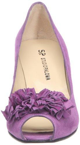 Studio Paloma 18442 369 Taco 491 Forrado 11078, Sandali donna Viola (Violet (Ante morado))