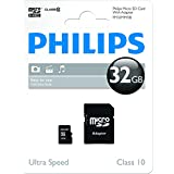 Philips FM32MP45B/10 Carte mémoire Micro SD Classe 10 32 Go