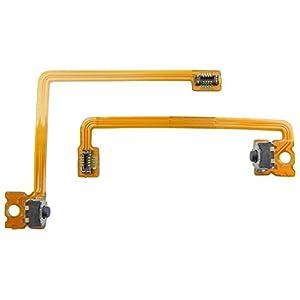 ToKa-Versand® – Tasten für Nintendo 3DS XL Schultertasten Schulter taste L und R Schalter Kabel Flexkabel Flachbandkabel