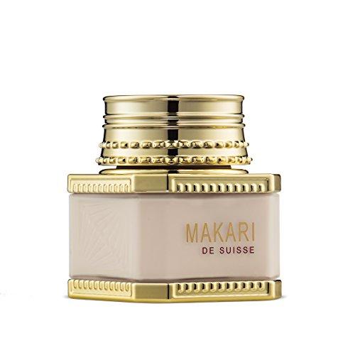Makari Classic Day Treatment Skin Creme 1.85 fl.oz - Hydrating, Lightening & Aufhellung Gesichtscreme - Tägliche Feuchtigkeitscreme für dunkle Marks, Narben, Akne Verunstaltungen & Hyperpigmentierung - De Suisse Makari