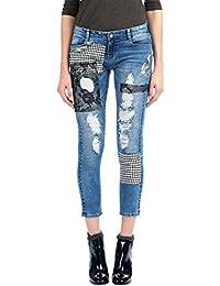 Pantalones Pantalones Amazon esDesigual esDesigual MujerRopa Amazon GVpUqSzM