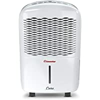 Inventor 1 Care12L Portable Dehumidifier with Silent Mode, Digital Control Panel, Continuous Dehumidification, Auto Restart, with 2-Year Warranty, 207 W, 12 liters, White