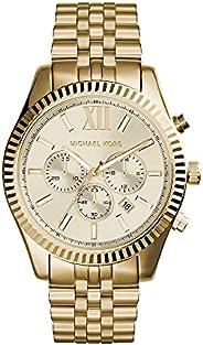 Michael Kors Lexington Men's Dial Stainless Steel Band Watch - MK