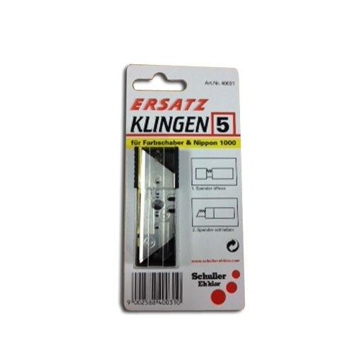 schuller-5xtrapezblades-spare-blades-for-nippon-1000-bodenlegermesser