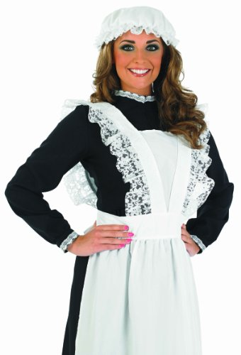 Victorian Maid - Adult Kostüm - Medium - (Victorian Kostüme Maid)