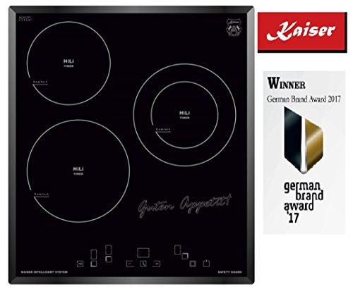 Kaiser KCT 4754 vitrocéramique plaque/ 45 cm/ 3 Quick Heat Zones de Cuisson/Luxe fabricant Kaiser/- plaques/Plaque de cuisson/Écran LED/ Gagnants German Brand Award 2018