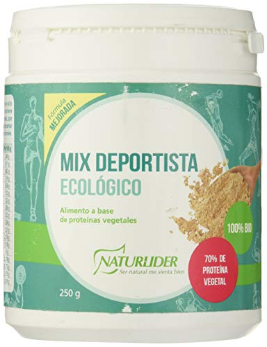 Naturlider Superfood Mix Deportista Ecológico Superalimento a Base de Proteínas Vegetales - 250 gr