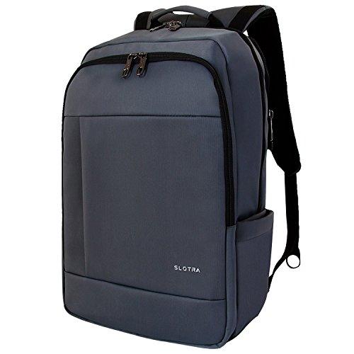 Laptop Rucksack 17 Zoll Wasserabweisend Reisen Outdoor Mordern Rucksack Schwarz 50x33x20cm