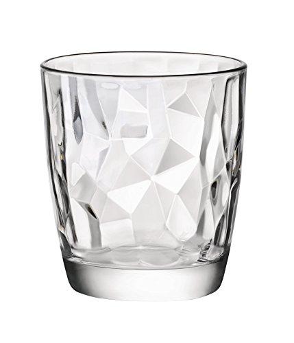 Bormioli Rocco Set 3 bicchieri acqua Diamond