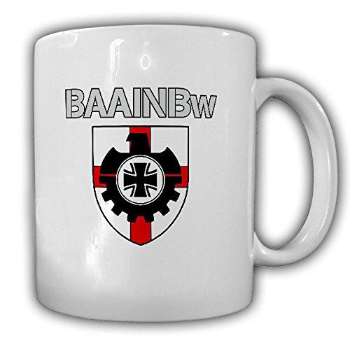 BAAINBw Bundesamt für Ausrüstung Informationstechnik und Nutzung der Bundeswehr Wappen Abzeichen - Tasse Kaffee Becher #15431