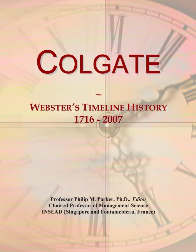 colgate-websters-timeline-history-1716-2007