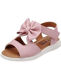 SMARTLADY Niñas Bowknot Sandalias Verano Princesa Zapatos,Tamaño 22-37