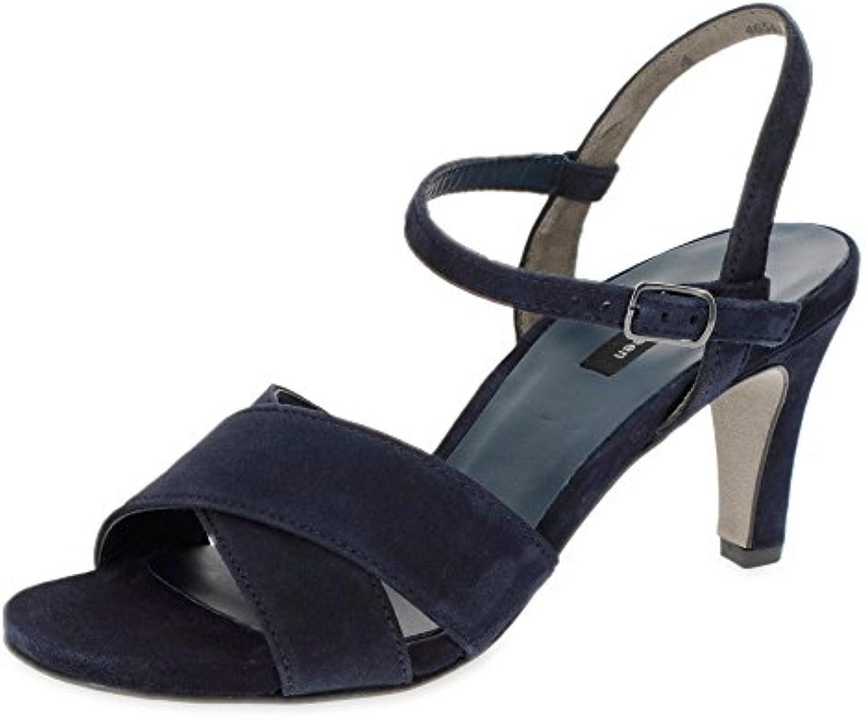 Paul Green Damen Velours-Sandalette 2018 Letztes Modell  Mode Schuhe Billig Online-Verkauf