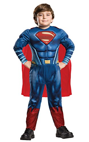 Rubie's Official DC Justice League Deluxe Superman Kinder Kostüm
