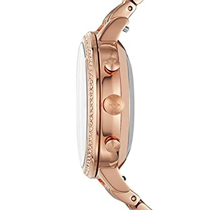 Fossil Jacqueline Hybrid FTW5034 – Reloj Inteligente para Mujer (Acero Inoxidable), Color Oro Rosa