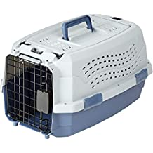 AmazonBasics 19-Inch Two Door Top Load Pet Kennel