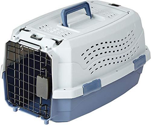 AmazonBasics Caisse de transport pour animal domestique 2portes dont 1sur le dessus 48cm