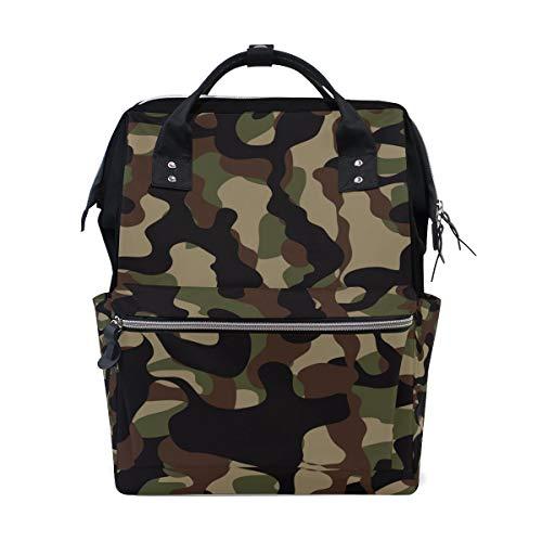 Camouflage Protective Military Cool Style Große Kapazität Windel Taschen Mummy Rucksack Multi Funktionen Wickeltasche Tasche Tote Handtasche Für Kinder Babypflege Reise Täglichen Frauen
