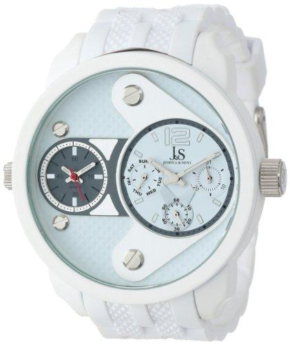 Montre pour Homme Joshua & Sons JS52WT en métal Blanc avec Bracelet Blanc