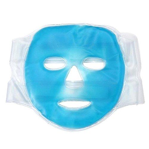Gel-Gesichtsmaske kühlend – Entspannungsmaske und Wellnessmaske für Augen und Gesicht –...