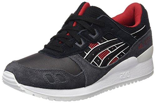 Asics Gel-lyte Iii, chaussure de sport mixte adulte, Noir, 41.5 EU