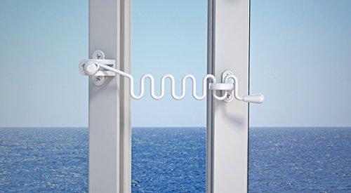 Abus 56846 - Permanecer EFS WC / F Bobina blanca ventana abatible
