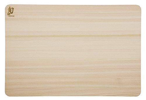 Shun DM0816 - Tagliere, Legno, naturale, 45,7 x 30,5 x 2,0 cm