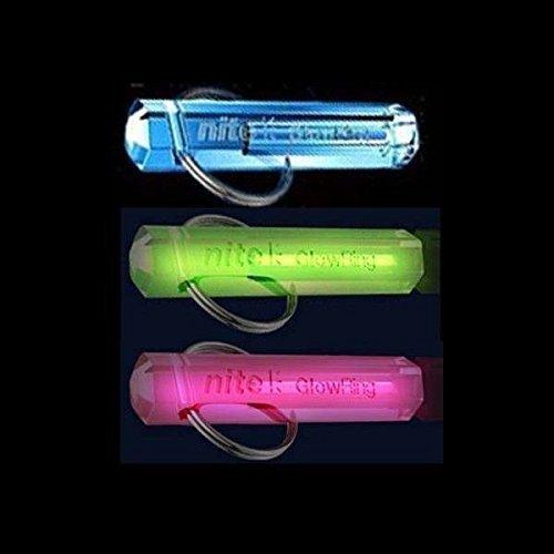 sselanhänger, Tritium, leuchtend, verschiedene Farben erhältlich Leuchtender Schlüsselanhänger grün grün ()