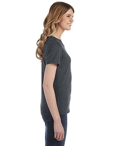Enclume pour femme coton Ringspun coton Fashion pour homme coupe gris - HEATHER DK GREY