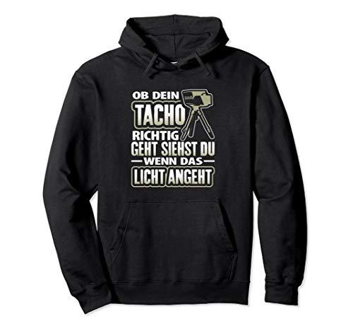 Tacho   Tuner Tuning Autofahren Witz Geschenk Spruch Pullover Hoodie