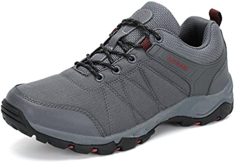 Dannto Zapatos Botas de Senderismo para Hombre Zapatos de Low Rise Trekking Ocio al Aire Libre y Deportes Zapatillas...