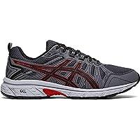 ASICS Men's Gel-Venture 7 Running Shoes, 14M, Black/Classic RED