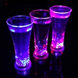 Wanna Party LED Tall Beer Glasses:- 1 PC