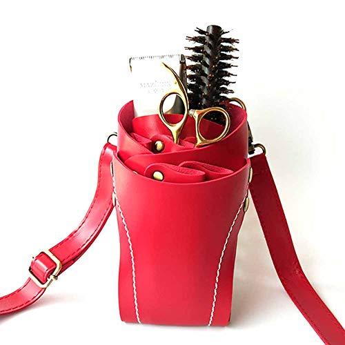 Sac de transport pour ciseaux avec ceinture en cuir supplémentaire
